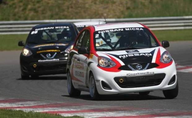 Nissan Micra Cup crash highlights importance of safe driving techniques (Photo: Nissan)