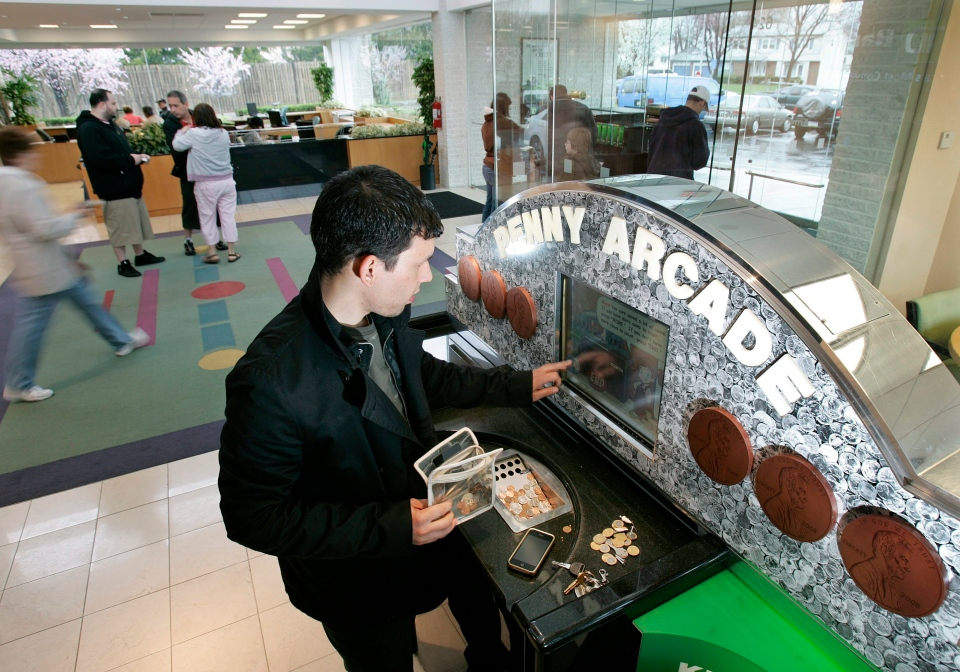 coin machine td bank
