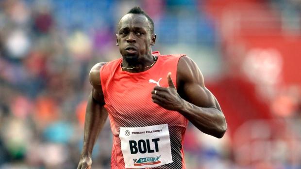 fe118888259 Usain Bolt wins 100m at Golden Spike