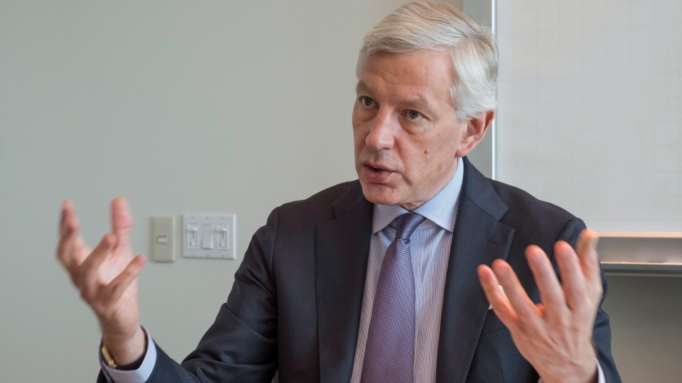 Dominic Barton was previously the head of Trudeau's economic growth  advisory council. (THE CANADIAN PRESS / Paul Chiasson)