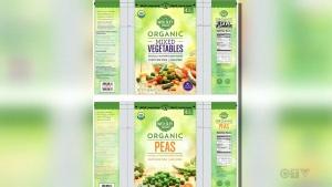 CTV National News: Frozen fruits, veggies recalled