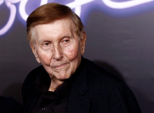 In this Oct. 3, 2011, file photo, Sumner Redstone arrives at the premiere of 'Footloose' in Los Angeles. (AP Photo/Matt Sayles, File)