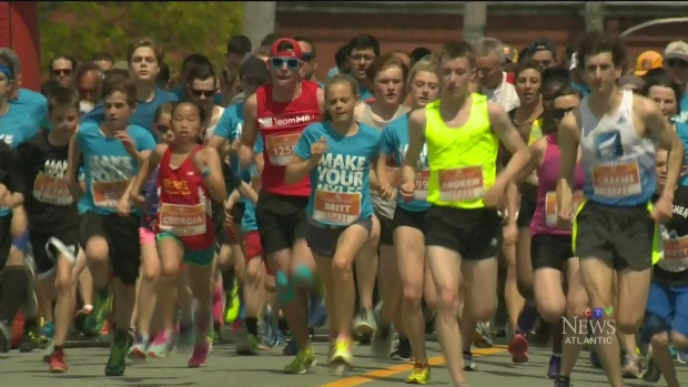 CTV Atlantic: Thousands lace-up for Blue Nose