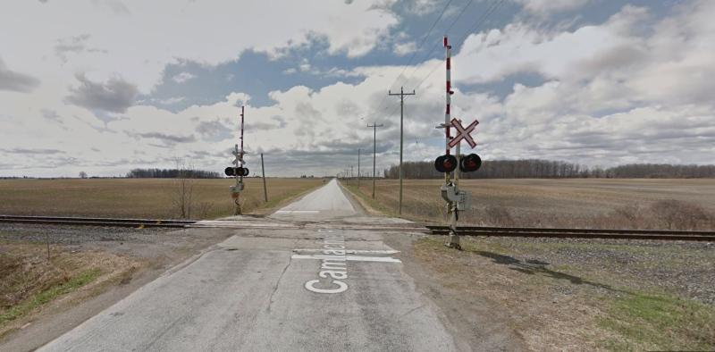 Camlachie Road rail crossing (Courtesy: Google)