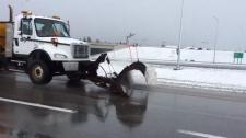 Calgary May long weekend snowplow