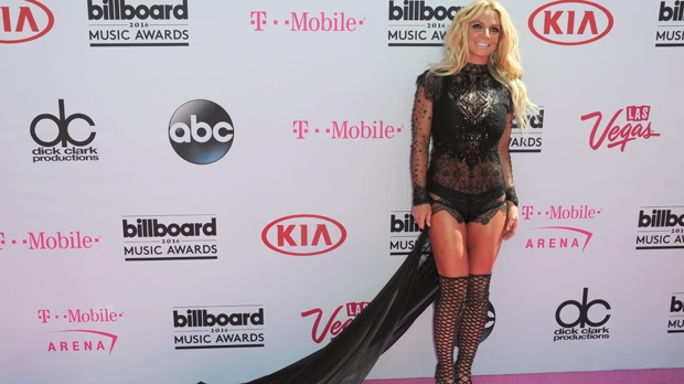 Britney Spears arrives at the Billboard Music Awards at the T-Mobile Arena on Sunday, May 22, 2016, in Las Vegas. (Photo by Richard Shotwell/Invision/AP)