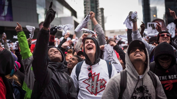 Raptors fans feel good about round 2 of playoffs