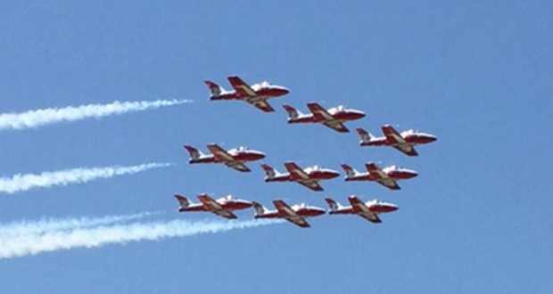 Snowbirds air show cancelled