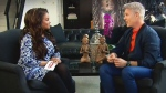 Steven Sabados opens up about the death of Chris Hyndman, his partner of 27 years during an exclusive interview with CTV's Traci Melchor of etalk from his Toronto home.