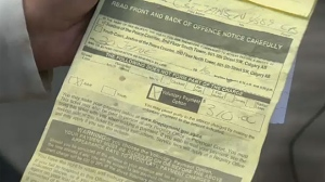 Some drivers who've been slapped with tickets for driving with expired tags say the Alberta government should have done more to inform them.