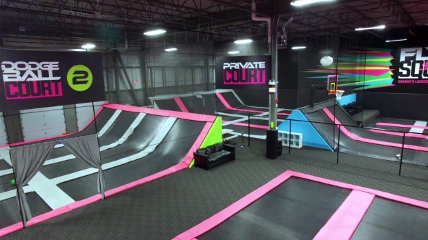 vancouver island s first trampoline park to open in. Black Bedroom Furniture Sets. Home Design Ideas
