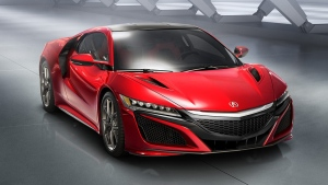 The Acura NSX hybrid supercar by Honda © Honda