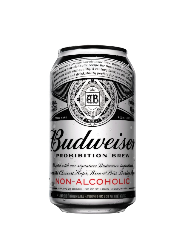 budweiser targets non alcoholic beer market with. Black Bedroom Furniture Sets. Home Design Ideas