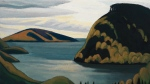 'Coldwell, Lake Superior,' a painting by Lawren Harris, is shown in a handout photo. (THE CANADIAN PRESS / Heffel Fine Art Auction)