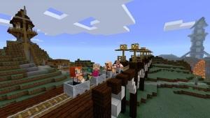 Minecraft: Windows 10 Beta Edition. © Mojang / Microsoft