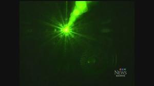 CTV Barrie: Arrest after laser aimed at chopper