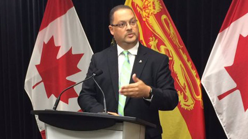 New Brunswick Energy Minister Donald Arseneault says his government's moratorium on hydraulic fracturing will continue indefinitely.