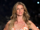 In this April 15, 2015 file photo, Brazilian supermodel Gisele Bundchen wears a creation from the Colcci Summer collection at Sao Paulo Fashion Week in Sao Paulo, Brazil. (AP Photo/Andre Penner, File)
