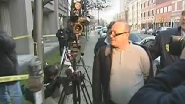 Rocco Sollecito is brought into court in 2006