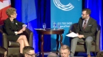 Ont. Premier Kathleen Wynne holds Q&A in Calgary