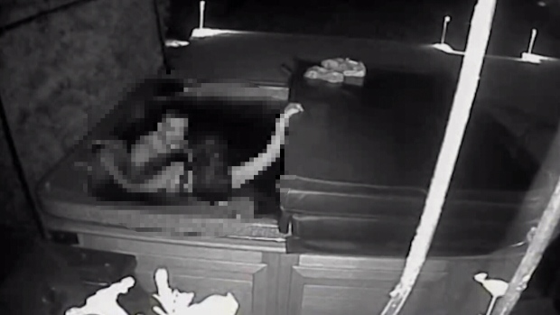 Help police find this naked burglar caught on CCTV and get