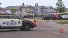Edmonton police respond to reports of shots fired along Ozerna Road, between 69 Street and 165 Avenue, on Friday, May 27, 2016.