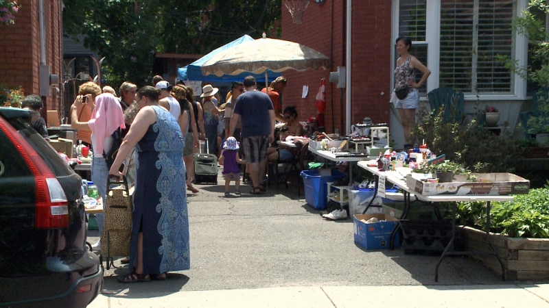 Great Glebe Garage Sale 2016