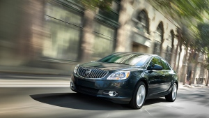 Buick Verano compact car will be discontinued in Canada this fall (Photo: GM)