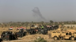 Iraqi military forces prepare for an offensive into Fallujah to retake the city from Islamic State militants in Iraq on Monday, May 30, 2016. (AP / Khalid Mohammed)