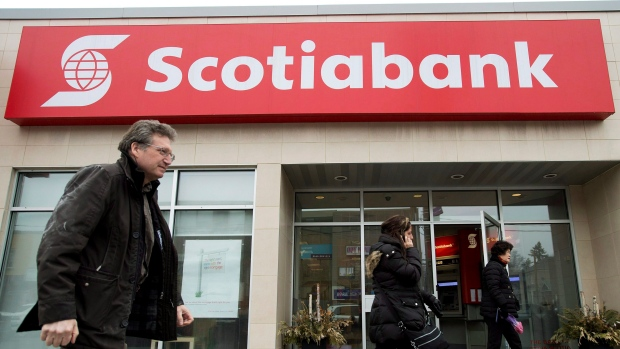 Scotiabank caps big bank earnings with 30% profit rise to over $2B
