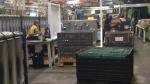 Inside Lakeside Plastics Ltd. in Oldcastle, Ont., on Tuesday, May 31, 2016. (Michelle Maluske / CTV Windsor)