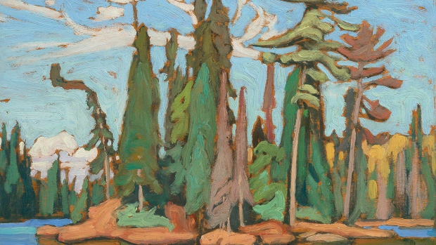 Lawren Harris' Algoma Sketch 48