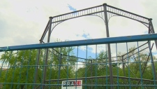 Restoring this 'heritage' gazebo has cost as much