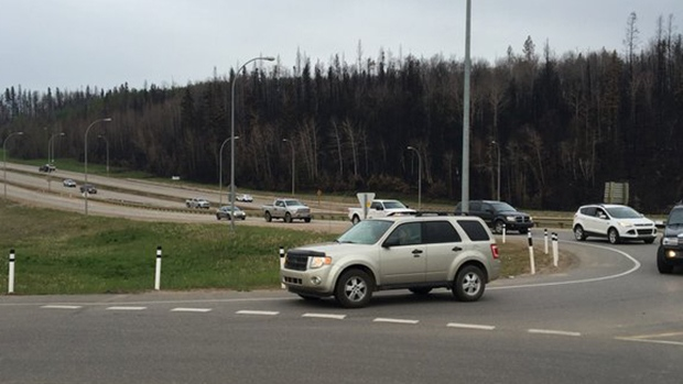Fort McMurray residents return home, Wednesday, June 1, 2016. (Melanie Nagy / CTV News)