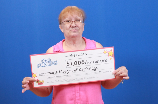 Cambridge woman wins cash for life, declines weekly payouts