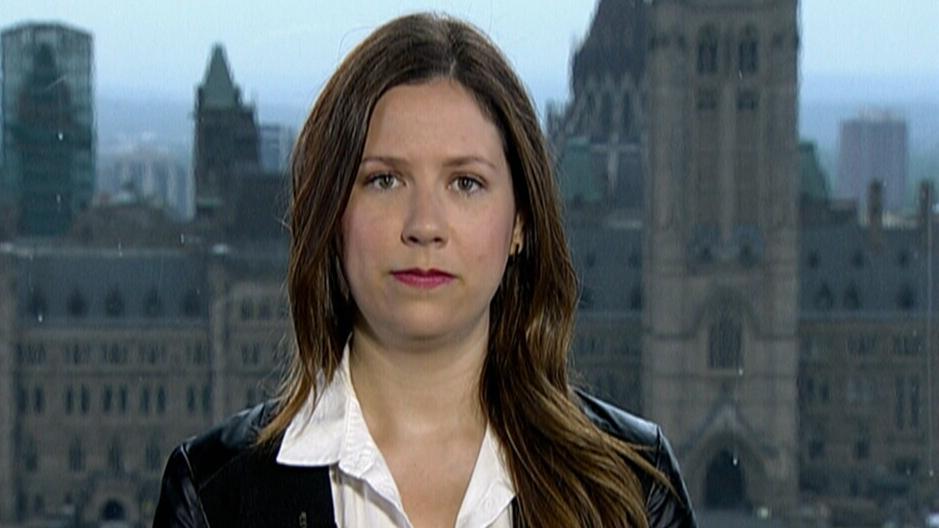 iPolitics reporter Amanda Connolly appears on CTV News, Thursday, June 2, 2016.