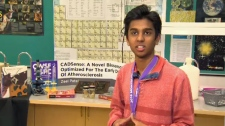 Zeel Patel wins award for heart disease test