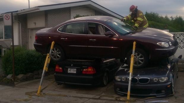 Laval car crash