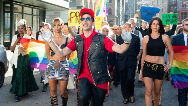 Andy Samberg in 'Pop star: Never Stop Never Stopping.' (Glen Wilson / Universal)
