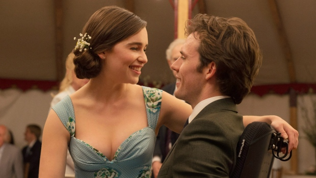 Emilia Clarke and Sam Claflin in 'Me Before You.' (Alex Bailey / New Line Cinema)
