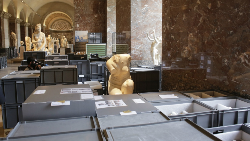 Louvre looks to protect art from flooding
