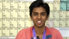 Calgary scientist Zeel Patel