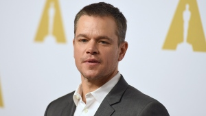 In this Feb. 8, 2016, file photo, Matt Damon arrives at the 88th Academy Awards Nominees Luncheon at The Beverly Hilton hotel in Beverly Hills, Calif. (Photo by Jordan Strauss/Invision/AP, File)