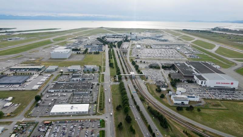 Vancouver International Airport is seen in this file photo. (CTV)