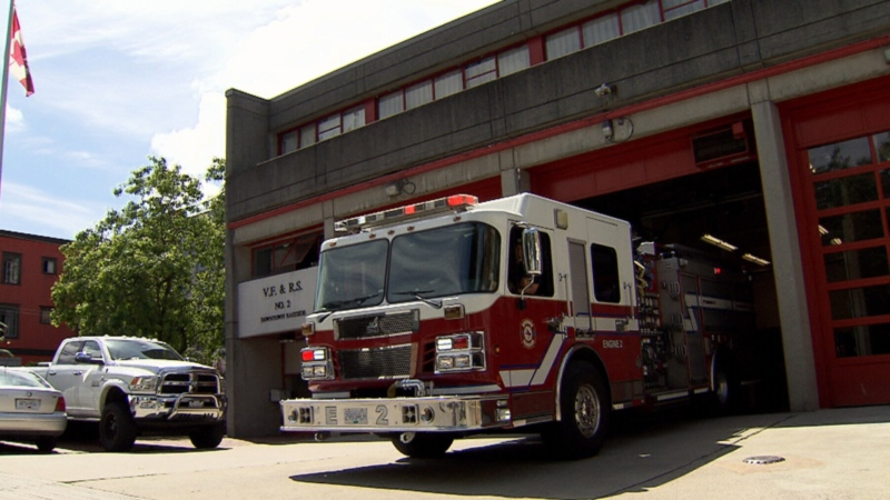 Vancouver Fire Hall 2 is seen in this file photo from 2016.
