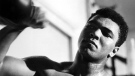 Muhammad Ali trains with a speedbag in this undated file photo. He was fast of fist and foot - lip, too - a heavyweight champion who promised to shock the world and did. He floated. He stung. Mostly he thrilled, even after the punches had taken their toll, he was the Greatest Of All Time. (THE CANADIAN PRESS/Boris Spremo)
