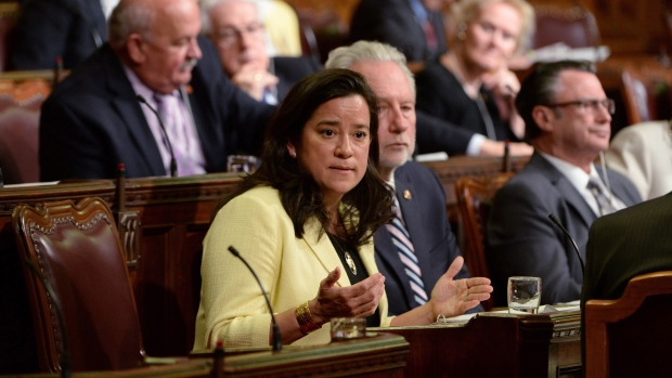 Minister of Justice Jody Wilson-Raybould