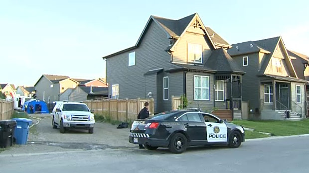 Police continue to investigate a home they say is connected to the drug trade in the southeast community of Auburn Bay.