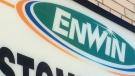 An Enwin Utilities sign in Windsor, Ont., on Monday, June 9, 2016. (Michelle Maluske / CTV Windsor)