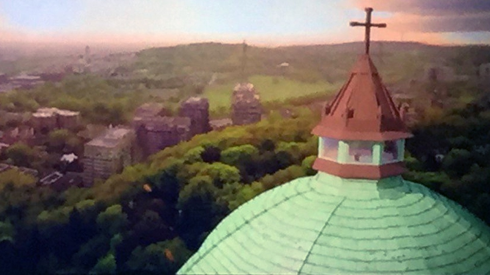 The last phase of the renovation of St. Joseph's Oratory will be to build a 360 degree observatory at the top of the dome